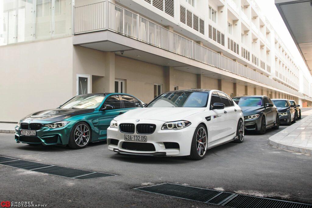 Dàn siêu xe BMW đẹp