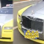Đại gia lái Rolls royce làm taxi bị điều tra