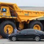 Siêu xe tải khổng lồ BelAZ giá gần 40 tỷ về Việt Nam