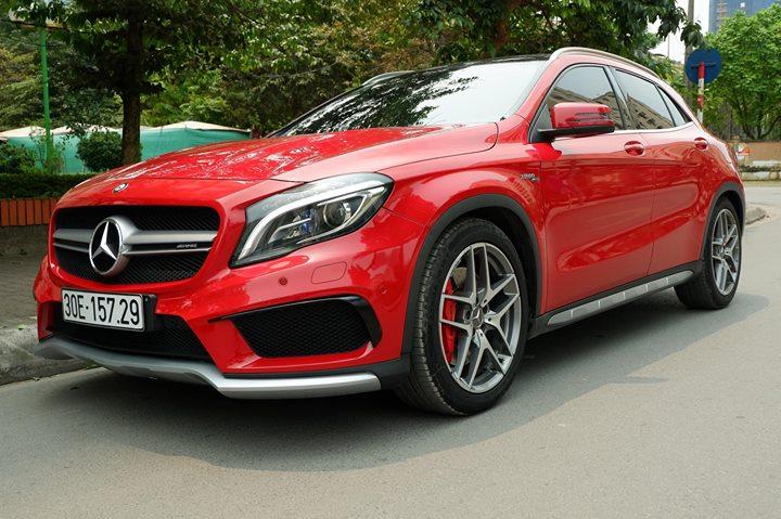 Xế sang đẹp Mercedes GLA 45 AMG