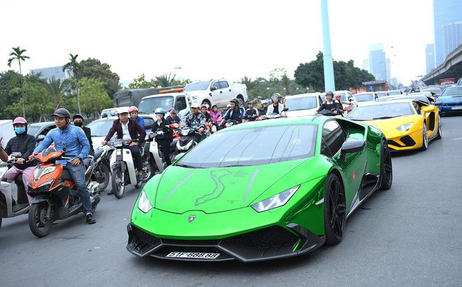 Tấm ảnh xe giàu và nghèo