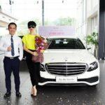 Siêu mẫu Xuân Lan mua Mercedes E200 giá 2 tỷ đồng