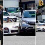Siêu xe Bugatti Veyron 50 tỷ vừa ra khỏi showroom đã bị tai nạn