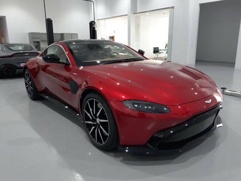 Siêu xe Aston martin đẹp và độc đáo