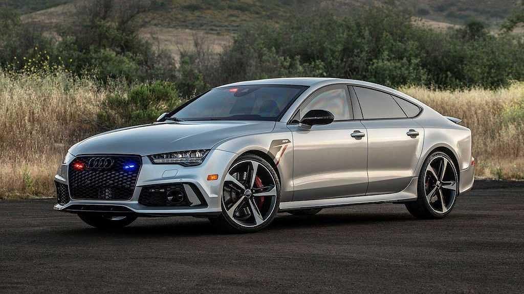 Xe sang Audi đẹp chống đạn được