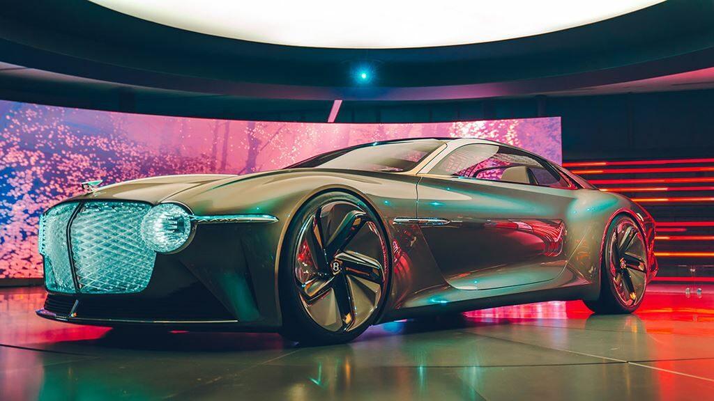Siêu xe Bentley tương lai