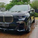 Xe sang BMW X7 ngoài đời thực rất hoành tráng
