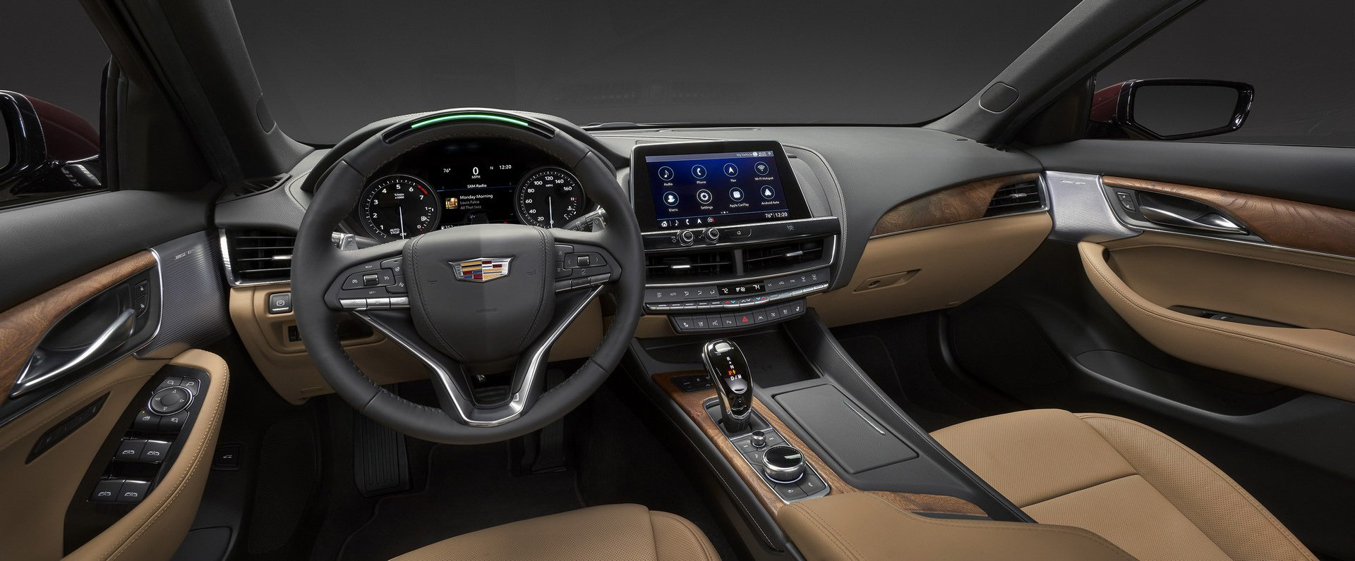 Nội thất xe Cadillac mới