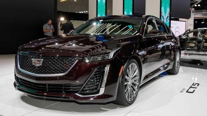 Xe sang Cadillac CT5 là mẫu xe sedan cỡ trung của hãng xe Mỹ