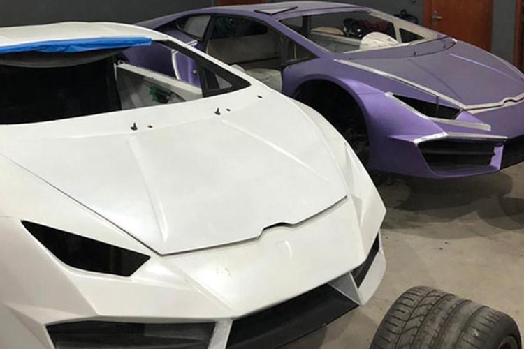 Làm giả siêu xe Ferrari và Lamborghini