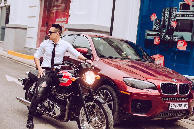 Xe sang BMW X6 bạn Tùng Giang