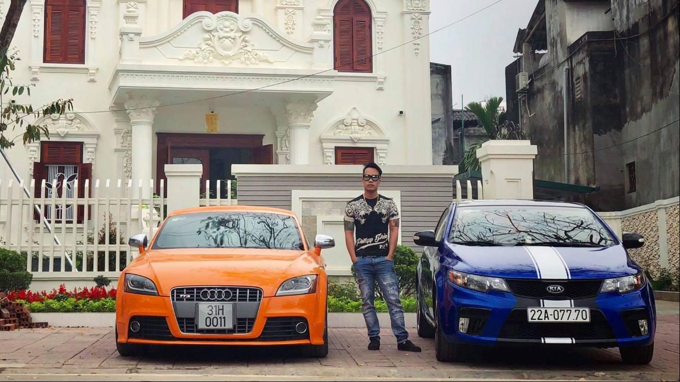 Tùng Giang mua xe đẹp