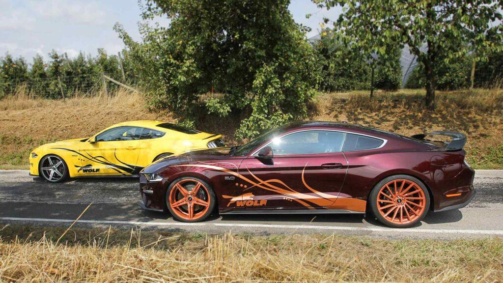 Siêu xe Ford Mustang mạnh mẽ