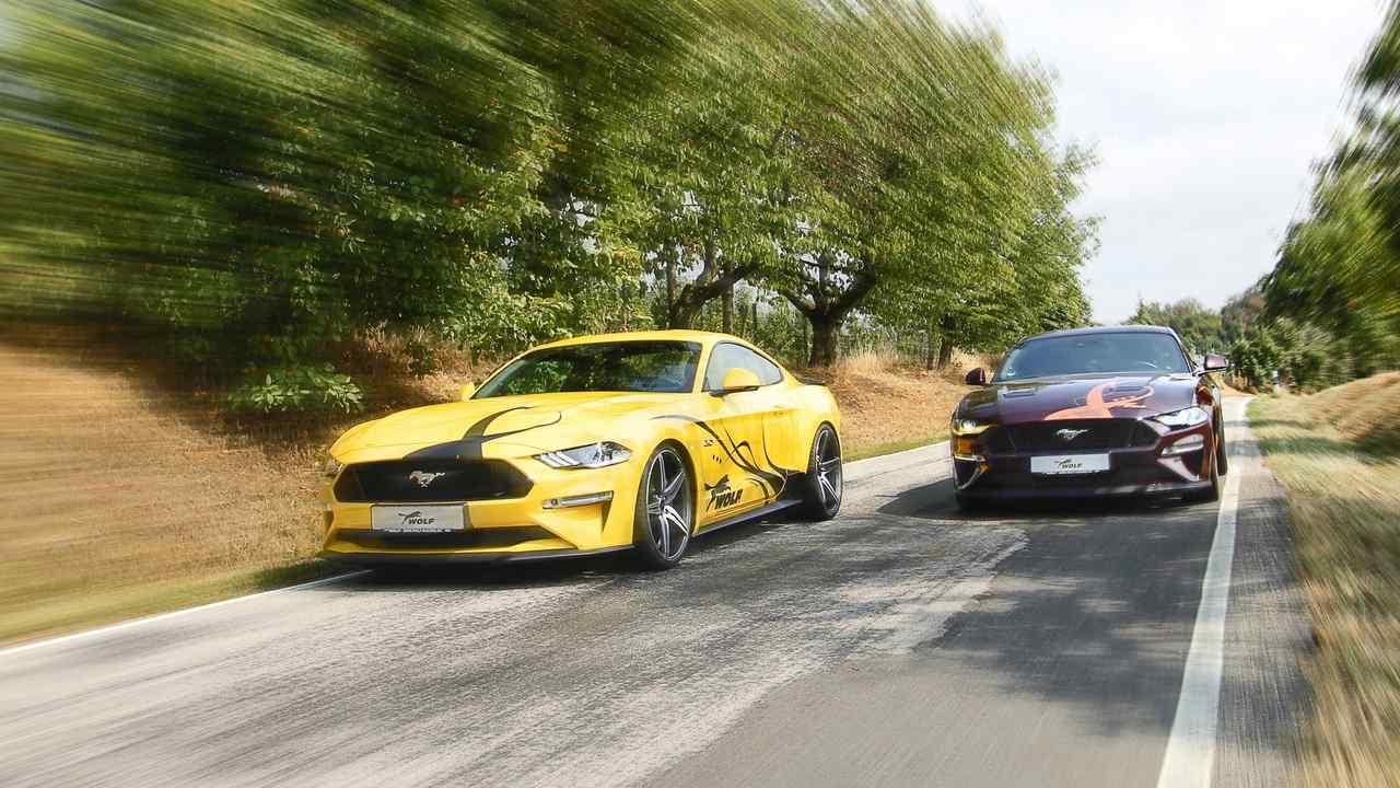 Ford Mustang nâng cấp