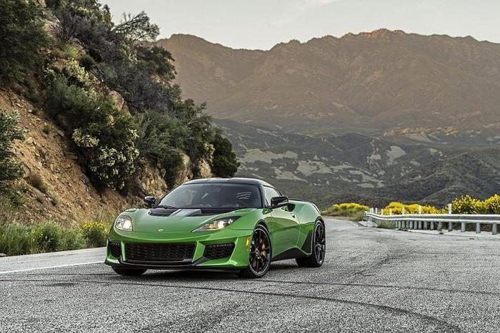 Siêu xe Lotus đẹp mới