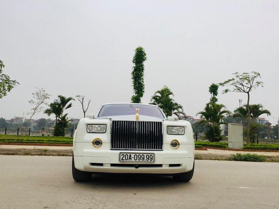Đại gia Thái Nguyên chơi Rolls royce