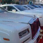 10 xe Rolls royce đỗ cạnh nhau trong lễ khai trương sòng bạc