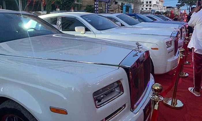 Dàn xe Rolls royce Campuchia