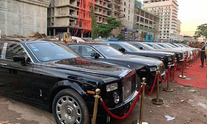 Dàn xe Rolls royce khủng