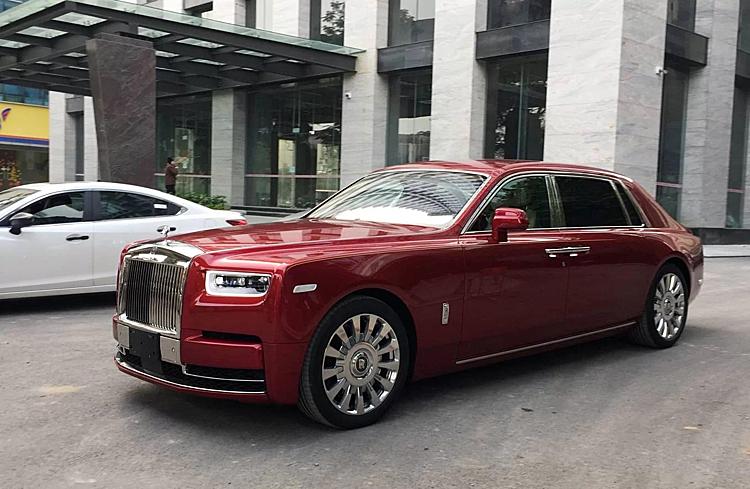 Xe Rolls royce Phantom khủng 2019