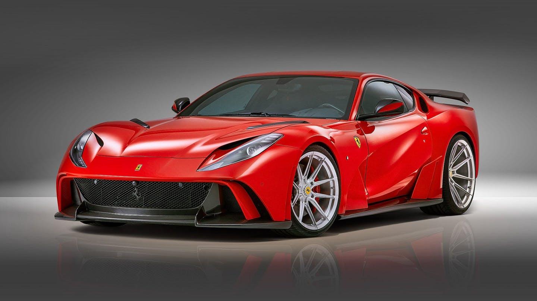 Siêu xe Ferrari nâng cấp đẹp