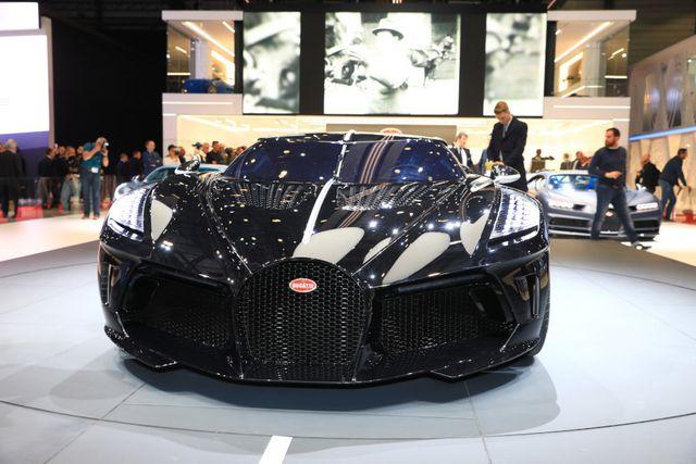 Cản trước siêu xe Bugatti đẹp