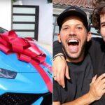 Người làm video youtube tặng siêu xe Lamborghini cho bạn mình