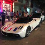 Minh nhựa mang 4 siêu xe khủng đến Đà Nẵng chơi
