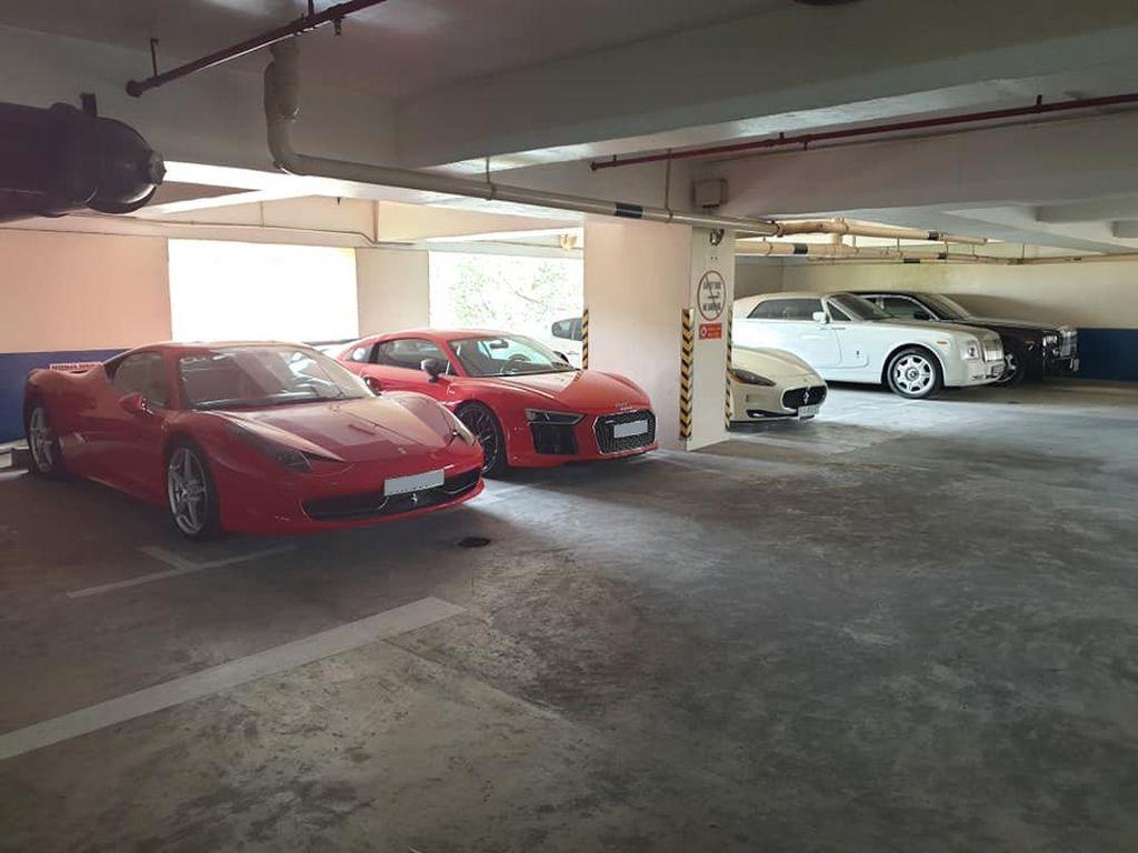 Hầm đỗ siêu xe trăm tỷ