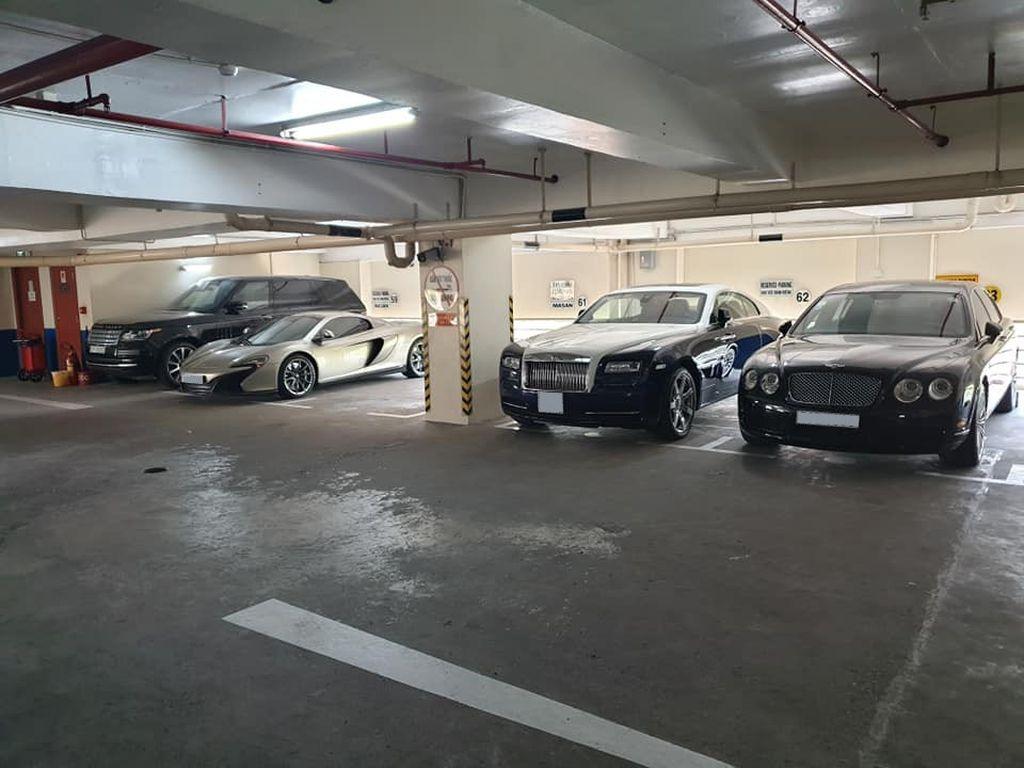 Hầm siêu xe đẹp nhất