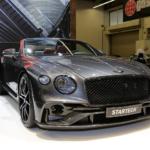 Siêu xe Bentley Continental GTC mui trần bản Full Carbon