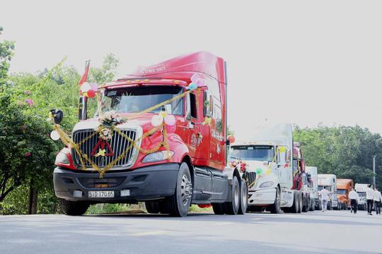 Đám cưới xe Container