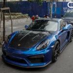 Xe Porsche Cayman độ ấn tượng với hàng hiệu