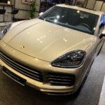 Porsche Cayenne 2020 vàng ánh kim tuyệt đẹp