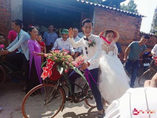 Đám cưới siêu xe đạp