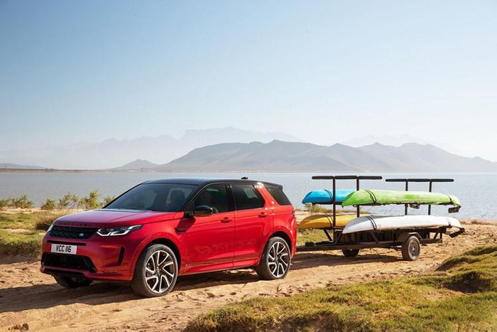 Chơi xe Land rover Discovery đẹp