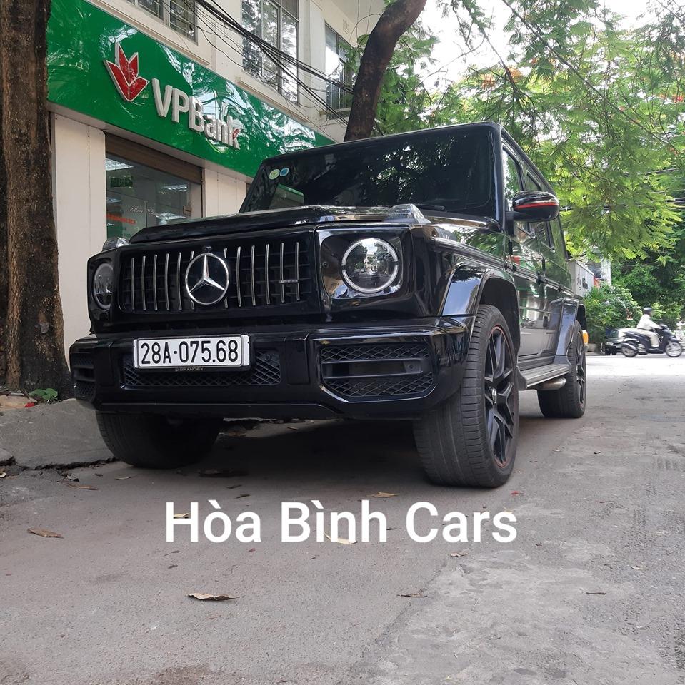 Dân chơi hòa bình mua Mercedes khủng