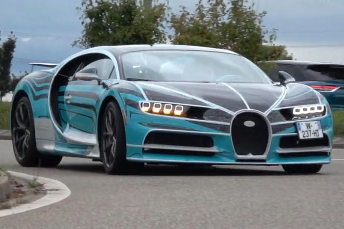 Siêu xe độc Bugatti Chiron Zebra