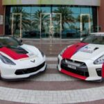 Siêu xe Corvette và Nissan GTR dùng vận chuyển bệnh nhân