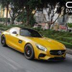 Siêu xe Mercedes AMG GTS giá hơn 10 tỷ ở Sài Gòn