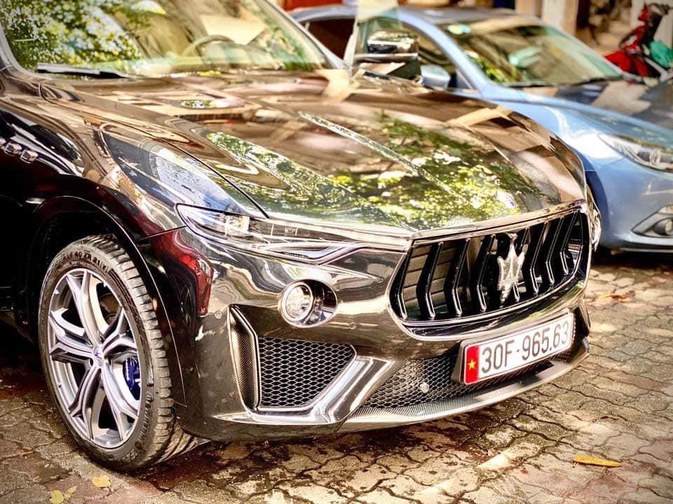 siêu xe Maserati Levante đẹp