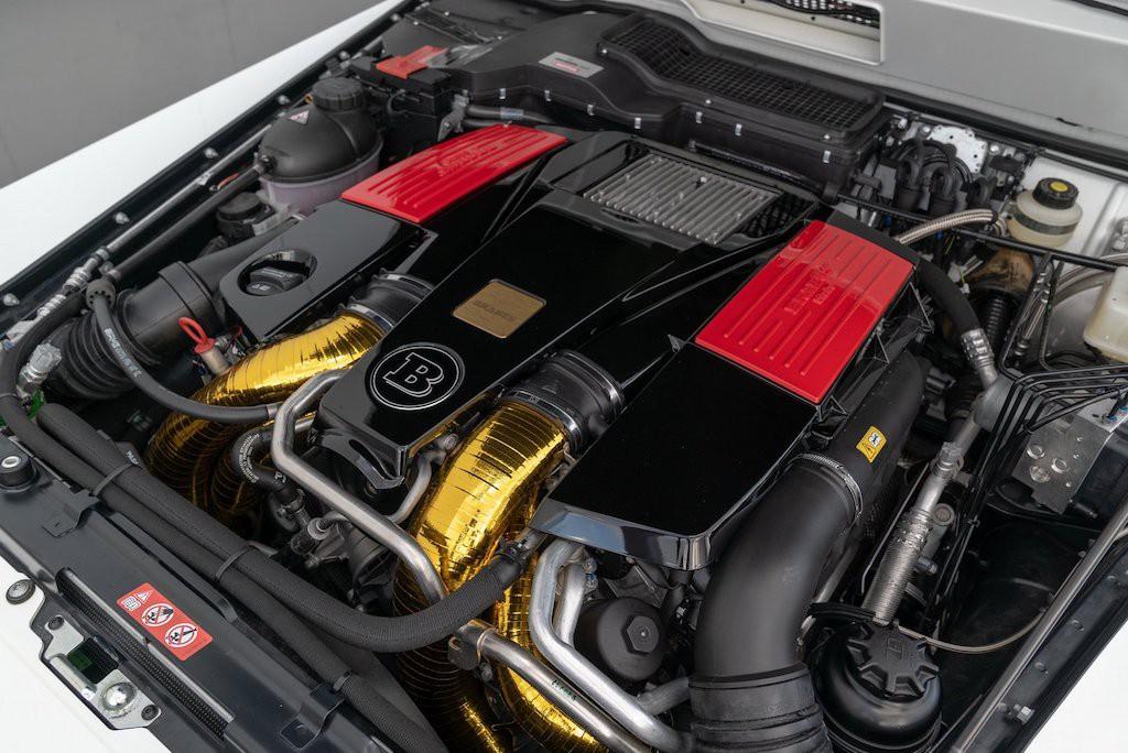 động cơ xe Mercedes khủng