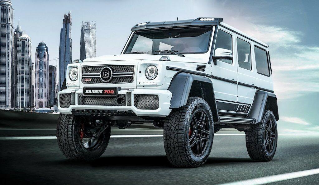 Mercedes AMG G63 độ cao như xe tải bởi Brabus