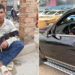 """Lộc """"phụ hồ"""" khiến nhiều người ghen tị khi mua Mercedes"""