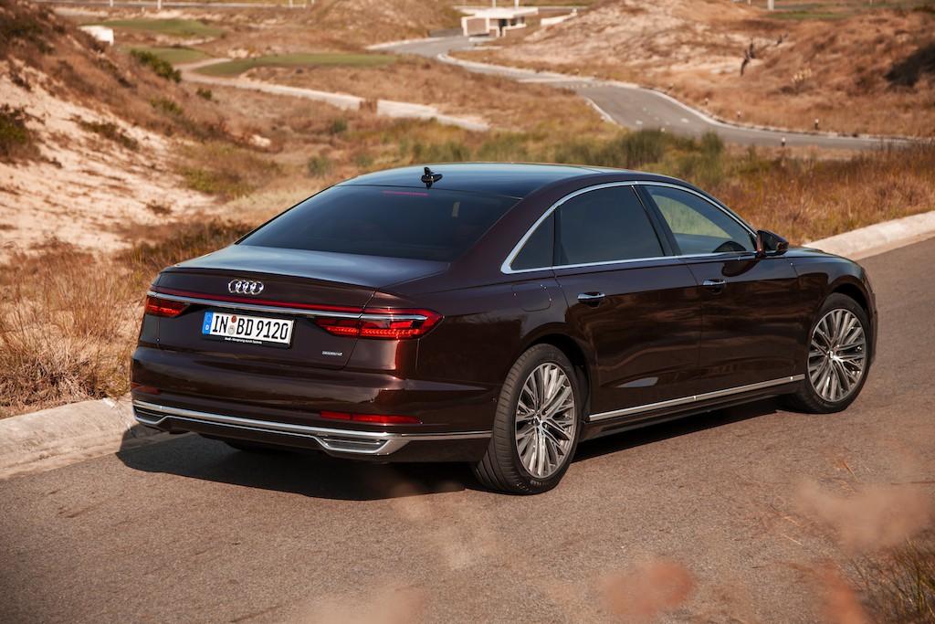 Video Audi A8L 2020