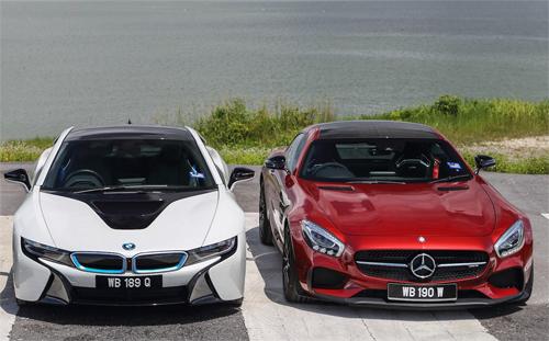 siêu xe BMW cạnh tranh Mercedes