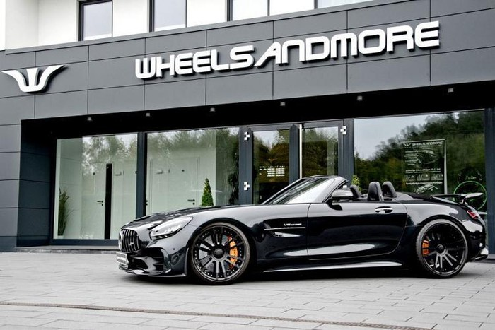 Siêu mui trần Mercedes độ