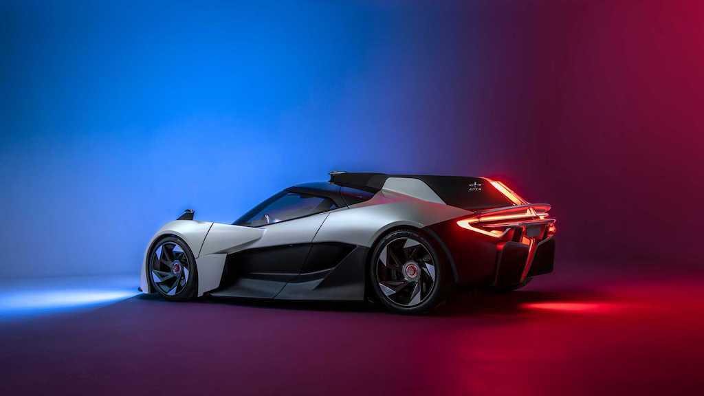 Siêu xe điện nhanh và mạnh mẽ