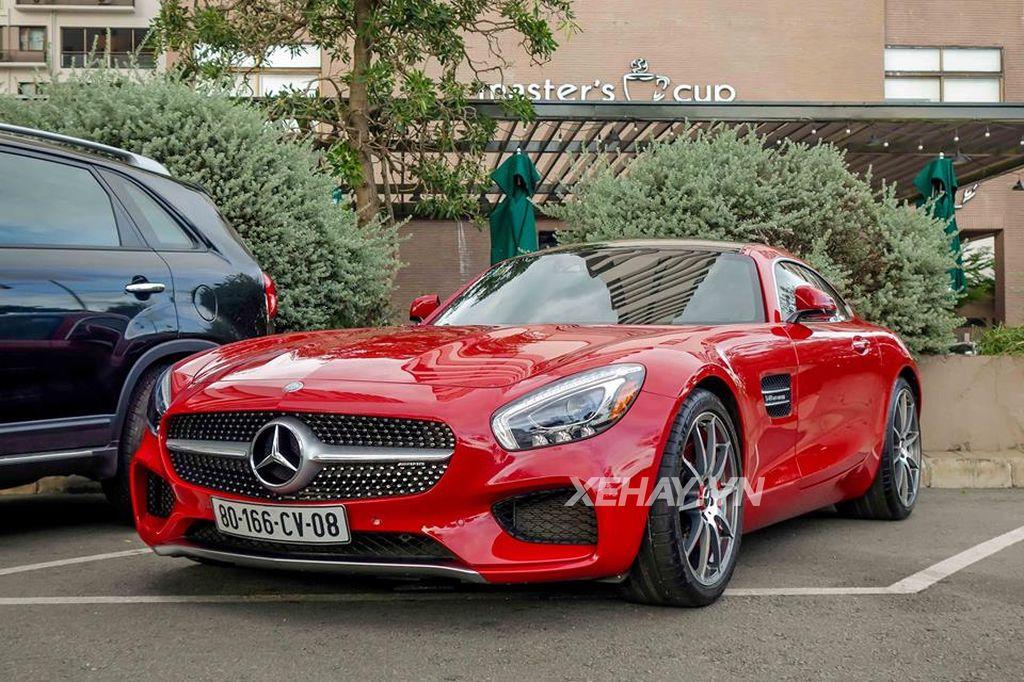 siêu xe Mercedes AMG GTS cũ đẹp đại gia Cường đôla