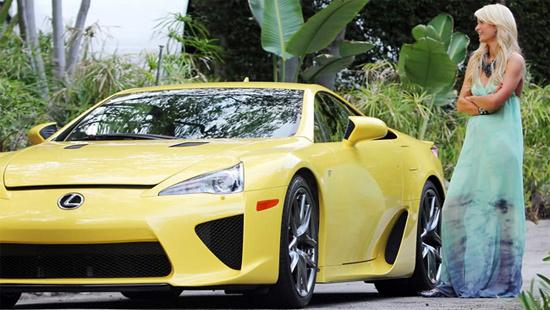 siêu xe Lexus LFA khủng